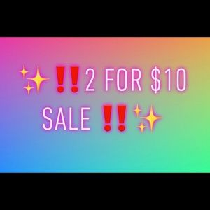 Other - ✨‼️ 2 for $10 sale ‼️✨